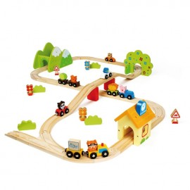Jolieville Wooden Train Set