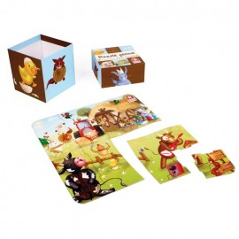 Musical Farm Animals Puzzle