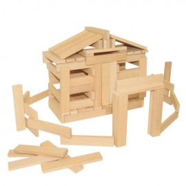 Wooden Blocks 100 Piece
